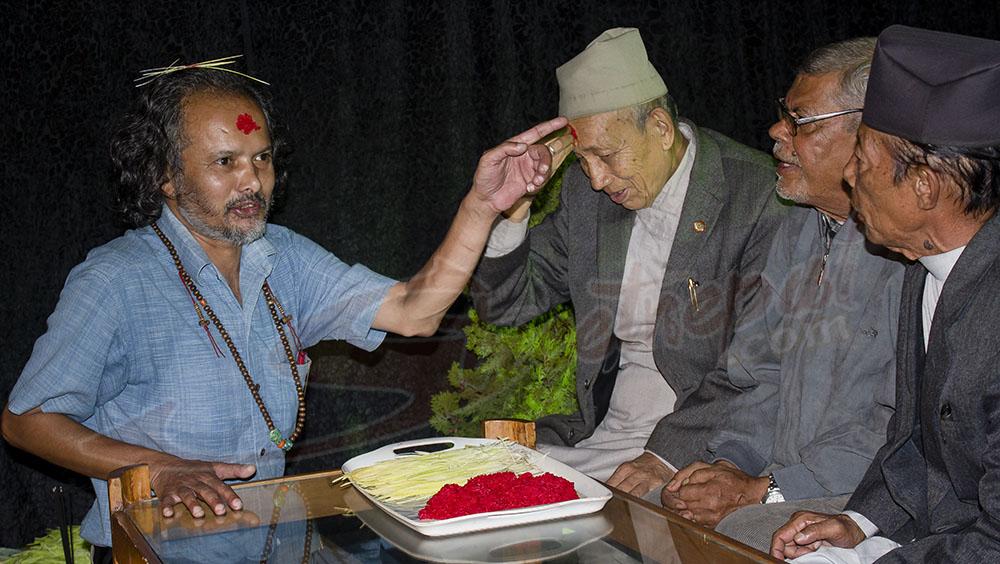 Dashain at Mandala Theater