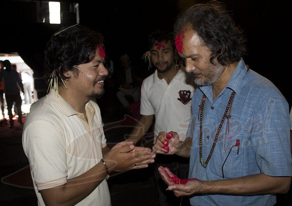 Dashain at Mandala Theater6