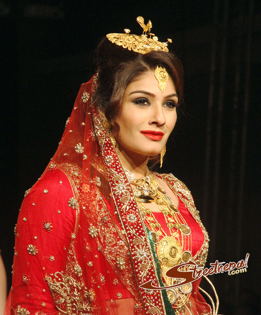 raveena tondon in nepalese bridal attire street nepal Nepali Wedding Jewellery Nepali Wedding Jewellery #9 nepali wedding jewellery