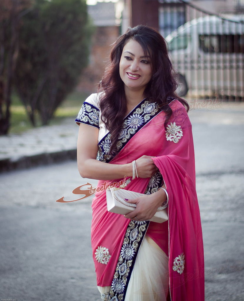 Nepali Heroin Saree Photos: Sweetheart Of Kollywood