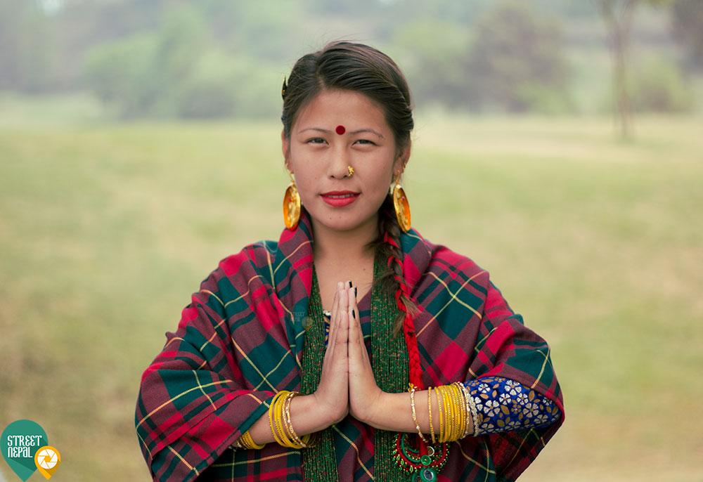 Gurung cultural attire
