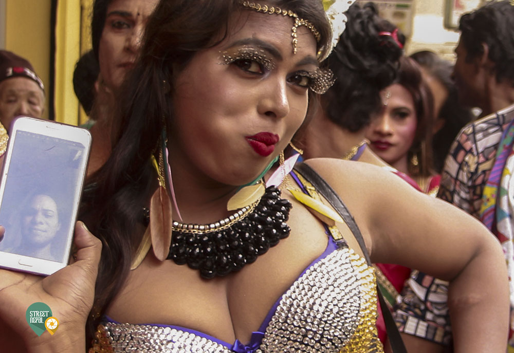 SEE HOW TRANSGENDER COMMUNITY CELEBRATED GAI JATRA