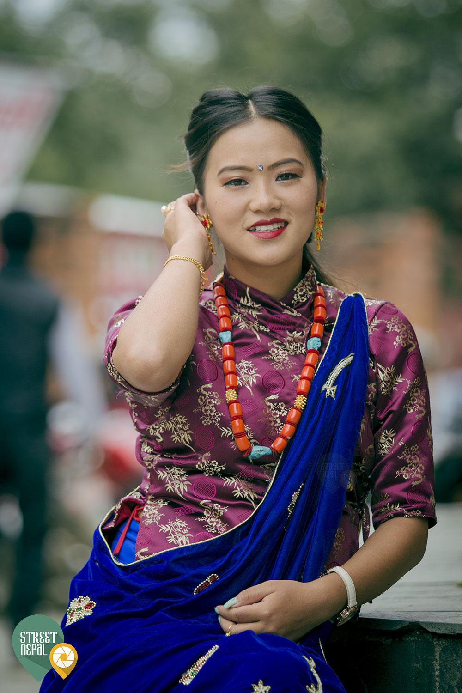 Riya Gurung Street Nepal