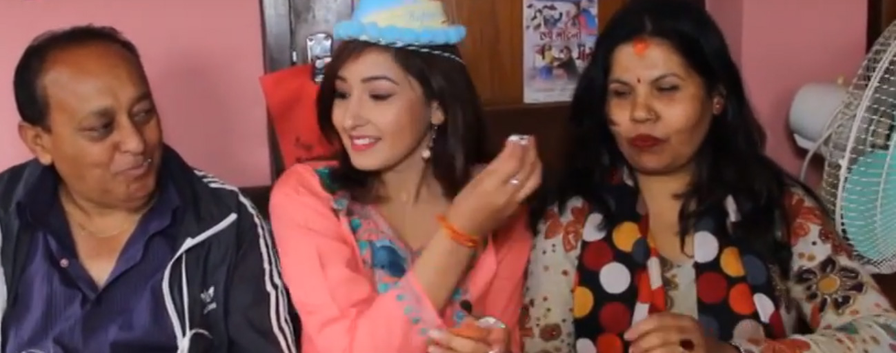 AANCHAL SHAMRA CELEBRATES HER BIRTHDAY WITH FAMILY