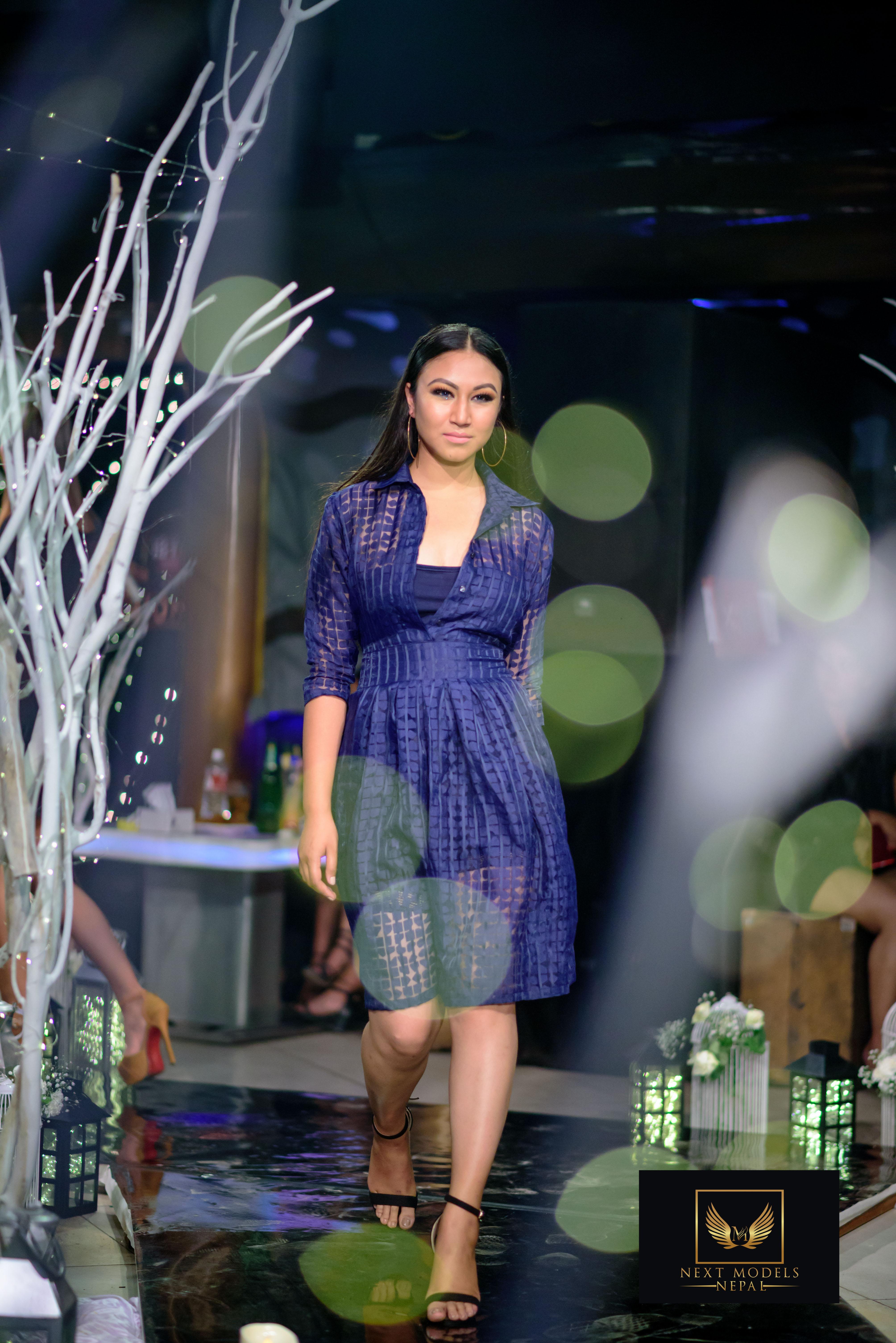 Ibyja Fashion Night 2018 Street Nepal